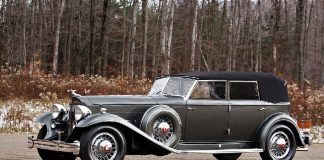 Retro stories: Packard Twin Six 906 convertible sedan