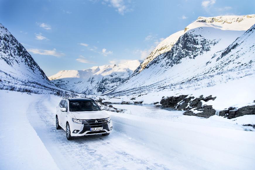 10.000 Mitsubishi Outlander PHEV στη Νορβηγία