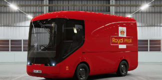 royal mail arrival truck image 1