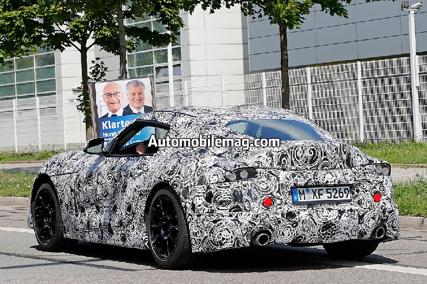 Toyota-Supra-spied-rear-end