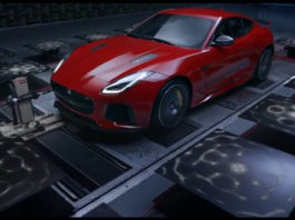 jaguar svr exuast sound