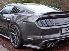 modified s550 mustang