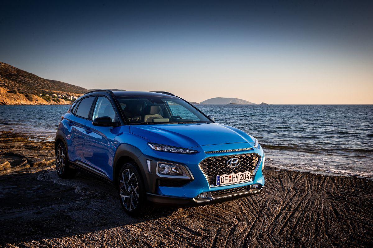Tο Kona Hybrid ανταποκρίνεται στις απαιτήσεις των ευρωπαίων πελατών για πιο πολλά SUV με φιλικά προς το περιβάλλον χαρακτηριστικά.