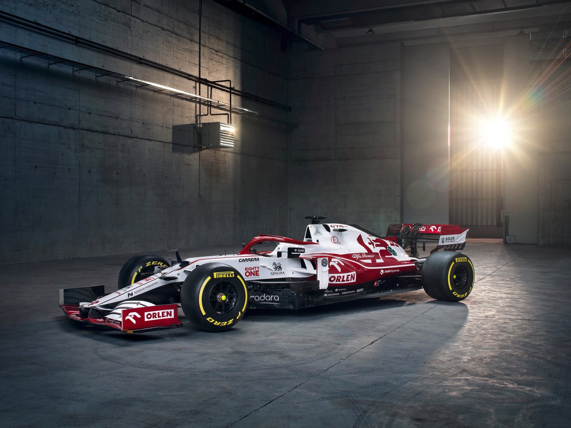 Η Alfa Romeo παρουσίασε το μονοθέσιο του 2021