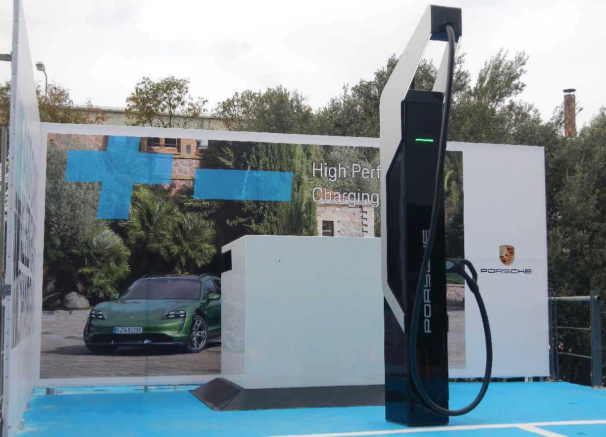 σταθμός φόρτισης ηλεκτροκίνητων αυτοκινήτων