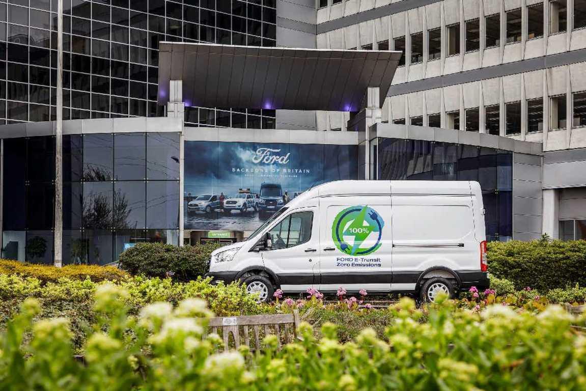 ηλεκτρικό E-Transit Van